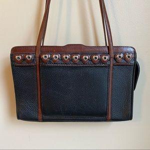BRIGHTON Pebble Leather Tote Bag Purse